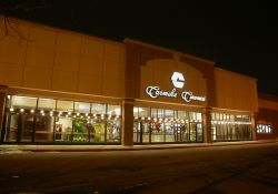 The entrance of the Carmike 12 by night. - , Utah