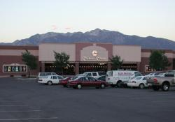 The Carmike 12 with the Rocky Mountains in the background. - , Utah