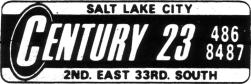 The Century 23 logo used in newspaper advertisements when the theater opened in 1972. - , Utah
