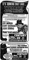 Advertisement for the opening of the Century 22.