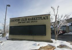 The Country Club Marketplace, 2005 East 2700 South, now occupies the site of the Crest Theater. - , Utah
