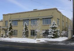 The Crest Theater was located at 2021 East 2700 South and was open briefly about 1955.  This office building, part of the Country Club Marketplace, may have been the Crest Theater. - , Utah