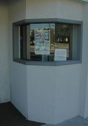 The ticket booth. - , Utah