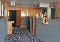 The lobby, seen through the entrance door. - , Utah