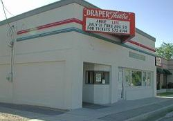 Front of the Draper Theatre, from the southeast. - , Utah