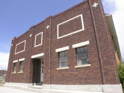 Front of the Fairview Dance Hall. - , Utah