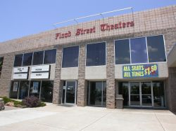 Front of the Flood Street Theaters. - , Utah