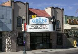 Front of the Grove Theatre in 2005. - , Utah
