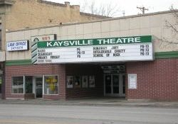 The front of the Kaysville Theatre. - , Utah