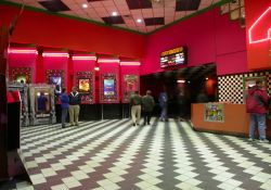 The lobby of the Layton Movies 10.