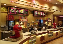 The concession stand of the Redstone Cinemas. - , Utah