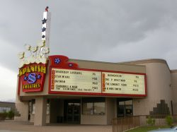 The front of the theater. - , Utah