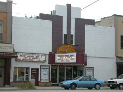 The front of the theater from across the street. - , Utah