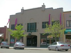 The former Dixie Theater is now known as the Main Street Theater and Ballroom, even though it no longer functions as a theater.  The auditorium is now used as a warehouse. - , Utah