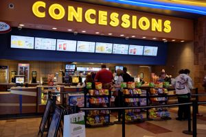 The concessions stand in the lobby. - , Utah