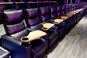 The second-to-last row of seats in the RPX auditorium. - , Utah