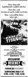 'Raise the Titanic' at the Regency Theatre, in 70mm Dolby Stereo. - , Utah