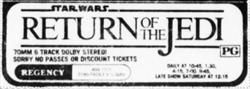 'Return of the Jedi' at the Regency Theatre. - , Utah