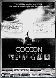 'Cocoon: The Return' in 70mm Dolby Stereo at the Regency Theatre. - , Utah