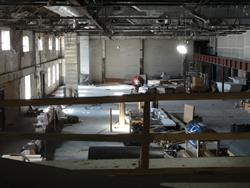 Another view of the three gutted auditoriums. - , Utah