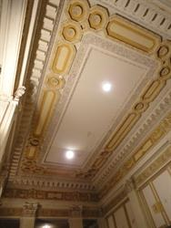 The ceiling of the lobby. - , Utah