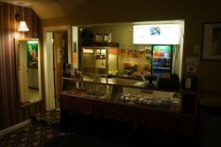 The concessions stand, on the south side of the lobby. - , Utah