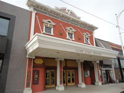 The front facade of the Caine Lyric Theatre. - , Utah