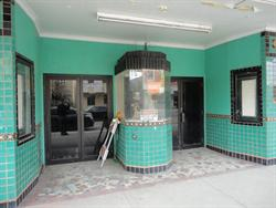 The ticket booth, with double doors on either side. - , Utah