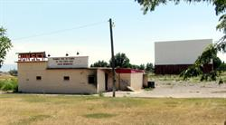 """The Sunset Drive-In did not reopen after the fire of 2013. A message on the attraction board reads,""""Thanks for 58 years of fun times and good memories."""" - , Utah"""