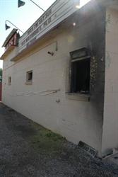 A fire broke out in the concessions building of the Sunset Drive-In on 5 July 2013. - , Utah