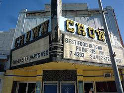 The marquee of the Crown Theatre. - , Utah