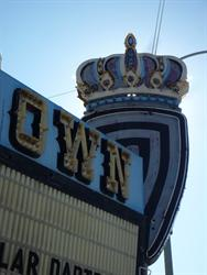 The crown on the marquee, from the west side. - , Utah