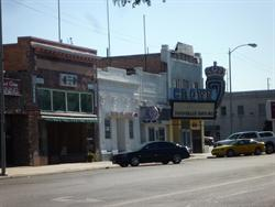 The Crown Theatre, with the Silver Dollar Steakhouse next door. - , Utah