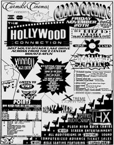 An 'Opens Friday' newspaper ad for the Hollywood Connection. - , Utah