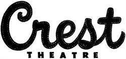 The Crest Theatre logo, from the opening day ad. - , Utah