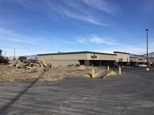 The former Showstar Cinemas site, with Leatherbys in the background. - , Utah