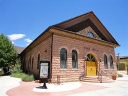 The front of Star Hall, from the southwest. - , Utah