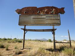 The south side of the Kigalia Drive-In sign. - , Utah
