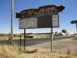 The north side of the Kigalia Drive-In sign. - , Utah