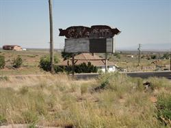 The Kigalia sign from across the field. - , Utah