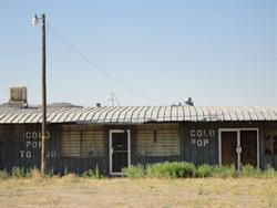 """A closed store advertises """"Cold Pop To Go."""" - , Utah"""