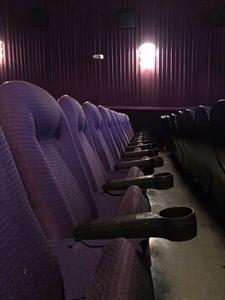 Looking across an aisle of seats. - , Utah