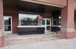 The former box office, with entrance doors on either side. - , Utah