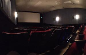 A flat panorama of Theater 6 from the back left corner. - , Utah