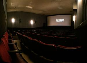 A flat panorama of Theater 9, from the back right. - , Utah