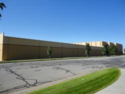 The north wall of the Movies 10 building, with Tinseltown in the background. - , Utah