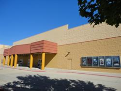 The south exterior wall of the Movies 10 building. - , Utah