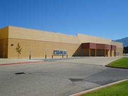 The south facade of the Movies 10 building. - , Utah