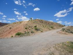 The entrance to the Hill Top Drive In was probably at about 1165 Murphy Lane, where a road leads up the hill towards the water tower. - , Utah