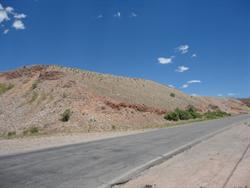The screen tower of the drive in is located at the top of this hill, directly behind the Gravel Pit Lanes Family Fun Center. - , Utah